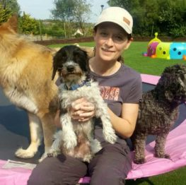 Dog daycare staff Mel